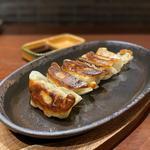 選べる2種盛り餃子(黒豚餃子、海老餃子)