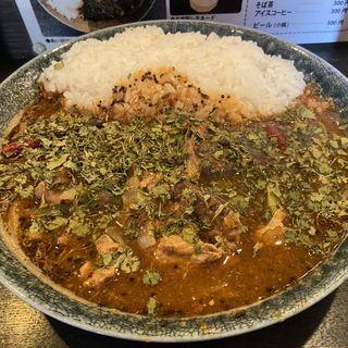 インドカレー アキノリ(鯖味噌)カレー(カレーノトリコ)