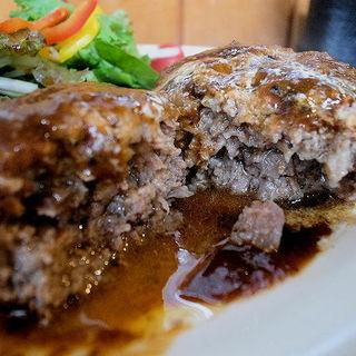 肉汁ハンバーグ(濱松屋)