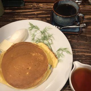 ホットケーキ(珈琲専門店 香咲 (カサ))