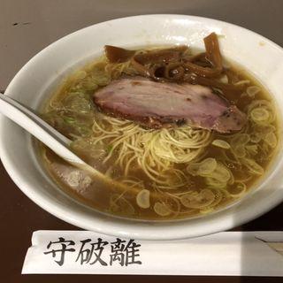 守 細麺 醤油