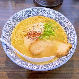 濃厚鶏白湯ラーメン(塩)(極上煮干し鶏そば やまだ邸)
