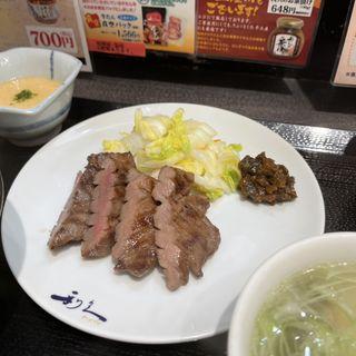 麦とろ定食(仙臺たんや 利久 東京駅店 (せんだいたんや りきゅう))