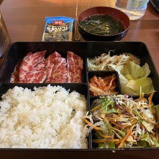 カルビ定食(焼肉丸苑)