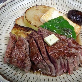 ヒレステーキ(ビーフステーキ専門店 ひよこ)