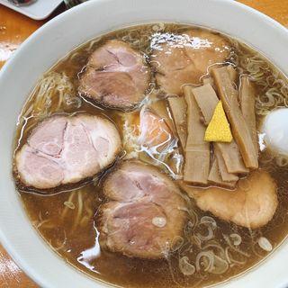 チャーシュー生卵麺(中華そば専門店 勝や (かつや))