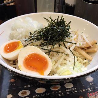 仙臺辛味味噌油そば+煮玉子(はてな 河原町店 )