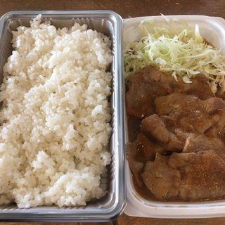 生姜キング弁当(生姜キング 浅草橋本店)