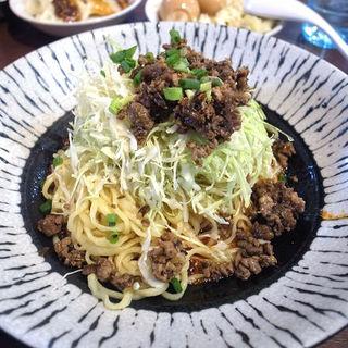 汁なし担々麺(本格四川料理 川城)