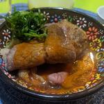 ゴボウ豆腐と和牛のすき焼き