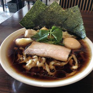 特製仕様醤油らーめん (きりっと味)太麺(あはれ)