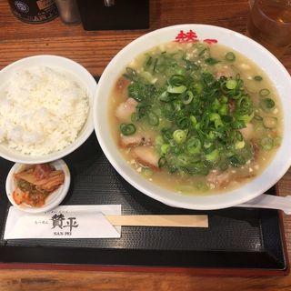 チャーシューメン定食