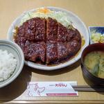 味噌わらじカツ(矢場とん 矢場町本店 (やばとん))
