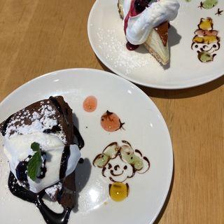 チーズケーキ・ガトーショコラ