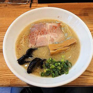 濃昆鶏白湯 塩(麺や 一想)