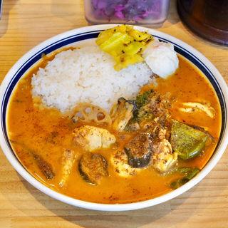 牡蠣野菜カレー