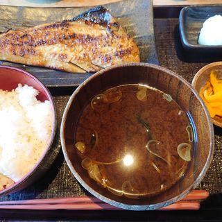 縞ほっけの仙台味噌漬け定食