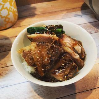 炙り焼豚丼