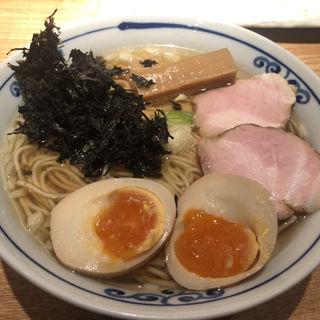 氷見産煮干しラーメン(貪瞋癡 (トンジンチ 【旧店名】 焼酎屋 とし))