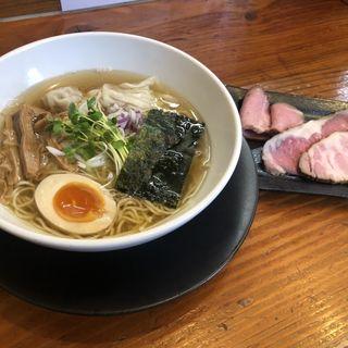 煮干し特製麺(自然派ラーメン 神楽 )