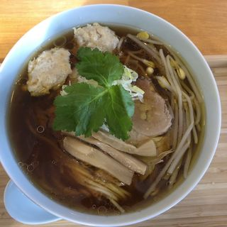 醤油そば上弦(自家製麺と定食 弦乃月)
