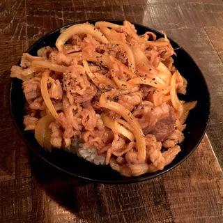スタミナカルビ丼(レッドロック 仙台店)