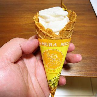山村牛乳ソフトアイス