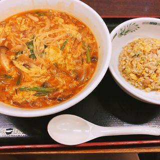 きのこ酸辣湯(日高屋 錦糸町南口店 )