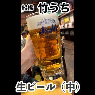 ジョッキビール中