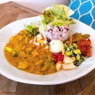 レンズ豆と野菜のココナッツカレー(NUKUcurry&toiro)