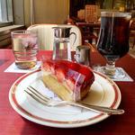 ケーキセット(季節のタルト)