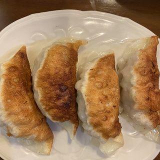 海老入り焼き餃子