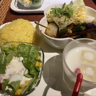 野菜スープカリー(東京ドミニカ (新宿ドミニカ))