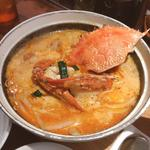 海老味噌の砂鍋麺
