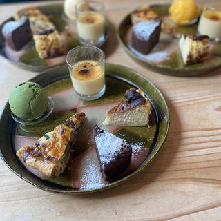 季節のデザート 気まぐれ5種盛り(カフェドミーミ(Café de mimi))