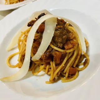 4種肉のラグースパゲティ