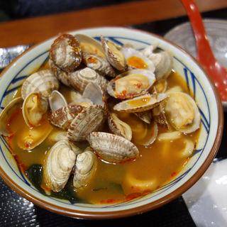 辛辛あさりうどん(丸亀製麺 福岡賀茂店)