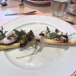 ランチ(パリのワイン食堂)