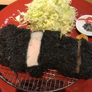 黒とん ロース(黒豚トンカツ さつまや とんとん)
