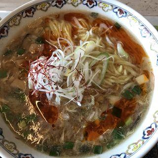 酸辣湯麺(マグレガーカントリークラブ レストラン )