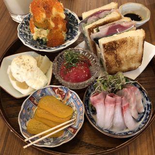 おまかせ前菜三種盛り合わせ(浮雲)