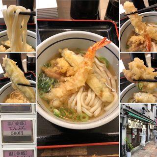 天ぷらうどん(おにやんま 新橋店)