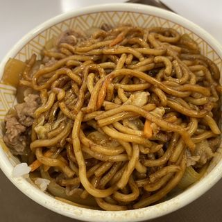 焼きそば牛丼(すき家 阿部野店 )