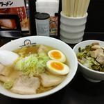 喜多方ラーメン&ミニ高菜焼豚ご飯