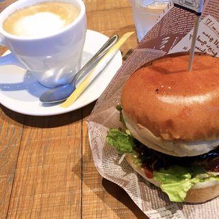 ニックバーガー(肉が旨いカフェ NICK STOCK 名古屋駅前店)
