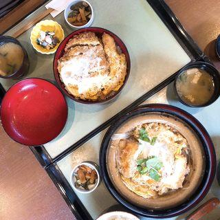 豆腐かつ煮(田むら 銀かつ亭 (たむら ぎんかつてい))