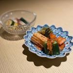 雪月花キムチ、旬野菜ナムル