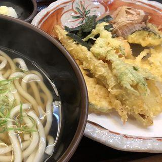 季節野菜天ぷらうどん