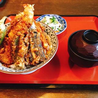 天丼(海老、野菜)(田堀 (たぼり))