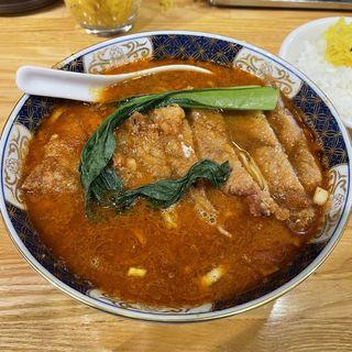 排骨坦麺(ばいこうだんだんめん)(支那麺 はしご 赤坂店 (しなめんはしご))